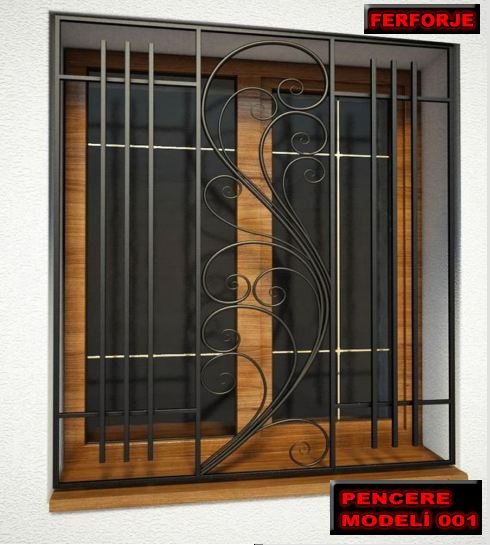 Pencere korkuluk demiri, küçük yaşlardan itibaren görmeye aşina olduğumuz önemli ev güvenlik unsurlarından birisidir