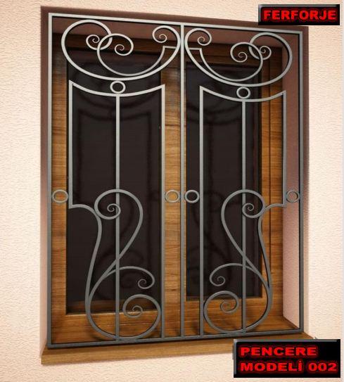Pencere demiri modelleri derken de farklı bir durumdan bahsetmiyoruz. Bu da ferforje pencere demir korkulukları anlatır.