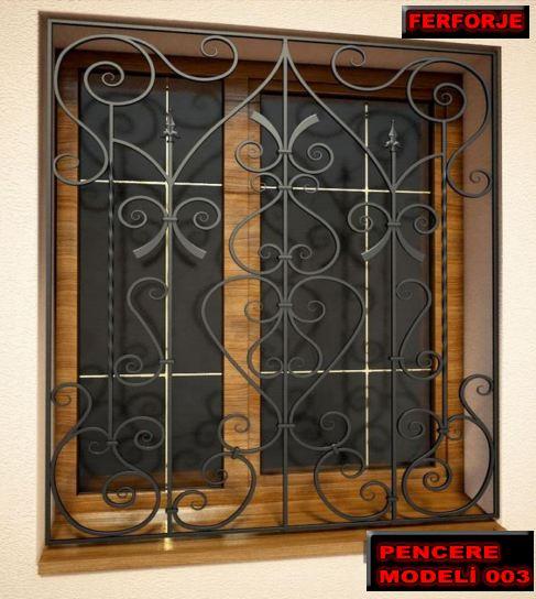Göbekli Pencere Demir Korkuluk modelleri ise sadece balkon ve pencere bölgelerinde kullanılmaktadırlar.